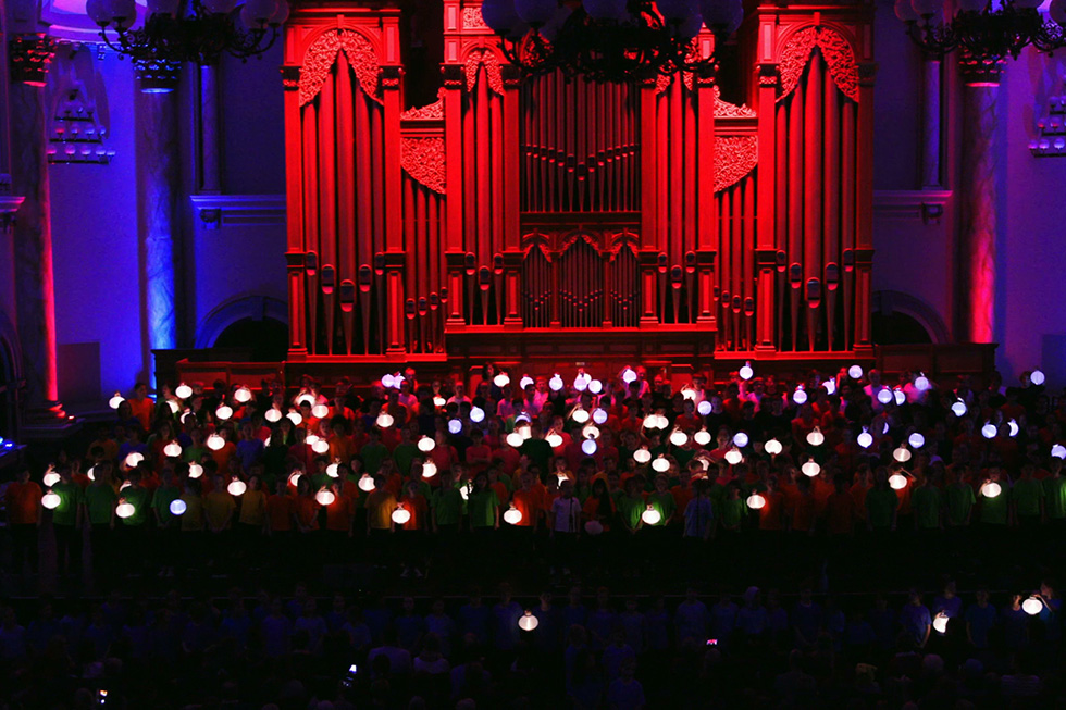 Lighting up the Arts at the Adelaide Town Hall