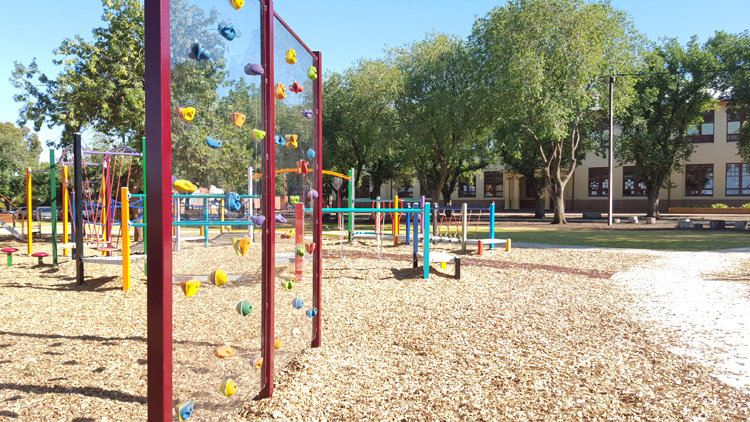 Mortlock Park playground